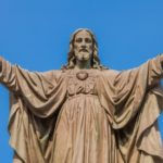Statue depicting the Ascension of Jesus