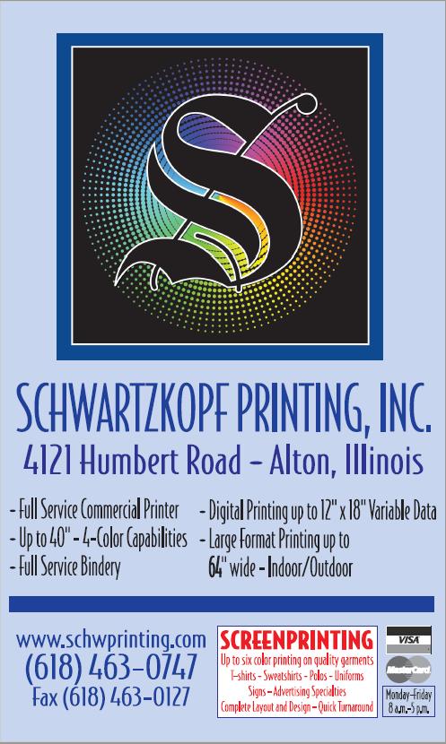 Schwartzkopf Printing, Inc. Gala Ad